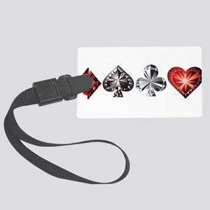 Poker Gems Luggage Tag